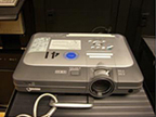 xga data/video projector 2500