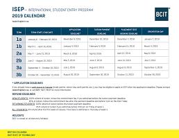 BCIT : : International Student Entry Plus: Full-time