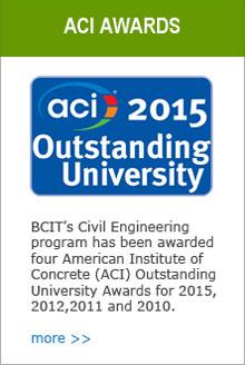 2015 ACI Outstanding University