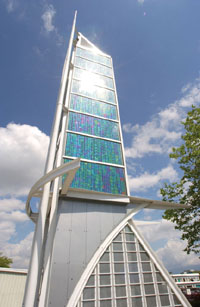 photo voltaic tower