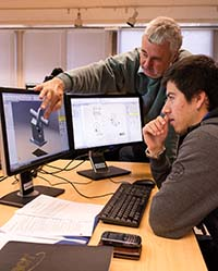 Computer Aided Design (CAD) what college subjects are needed to study biomedical engineering
