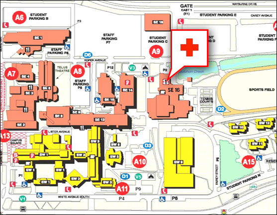 Bcit Student Health Services Hours And Location