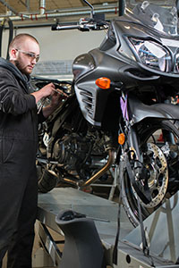 Motorcycle and Power Equipment training program