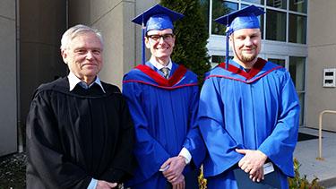 2017 February Technology Management graduates