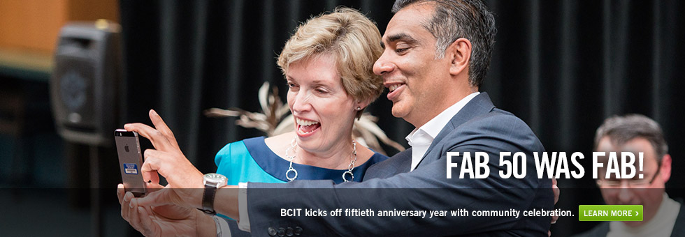 BCIT kicks off fiftieth anniversary year with community celebration. Learn more.