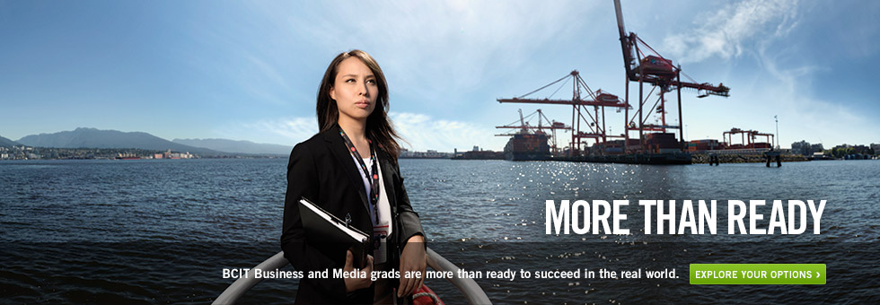 BCIT grads are more than ready to succeed in the real world. Explore your options.