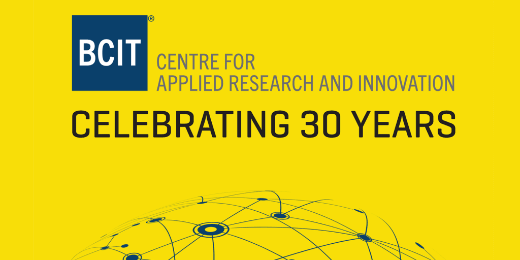 Centre for Applied Research and Innovation 30 Years graphic