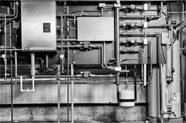 Image of condensing boilers.