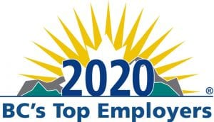 BC's Top Employers 2020 Logo