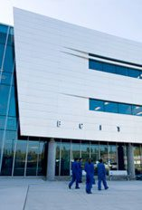 Image of the bcit aerospace technology centre in Richmond, British Columbia.