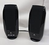 Portable computer speakers.