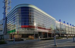 Image of SW1 gateway building at the burnaby campus.