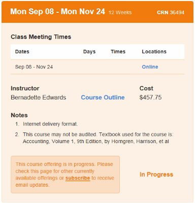 web notes example distance education.