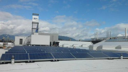 Image of bcit smart microgrid.