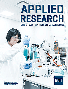 Image of applied research brochure.