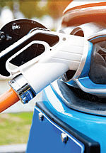 Small image of an electric vehicle charging nozzle.