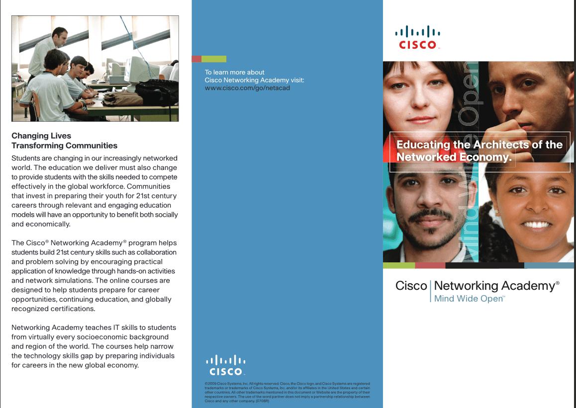 Cisco brochure page 1
