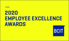 2020 Employee Excellence Awards logo for BCIT