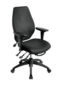ergoCentric airCentric black office chair.
