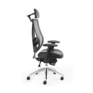 ergoCentric tcentric black office chair.