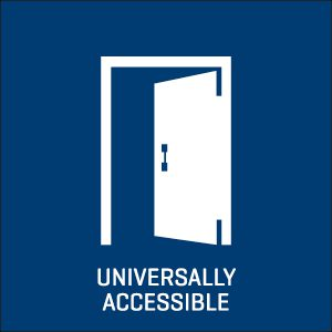 Universally accessible icon.