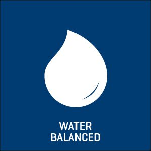 Water balanced icon.