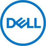 Blue logo for Dell Computers