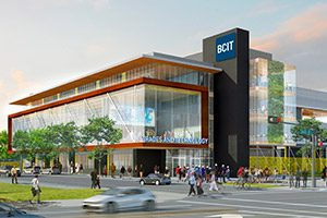 image of new BCIT building