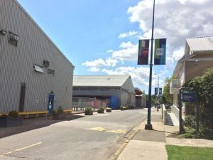 image of a street in BCIT