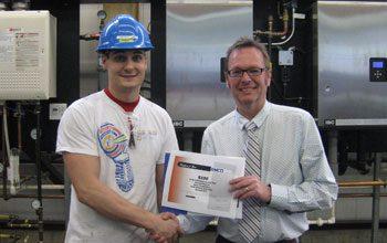 award receiving student