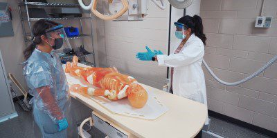 image of medical radiography classroom.
