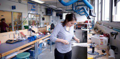 image of prosthetics and orthotics student.