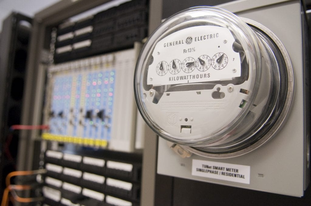 two energy meters