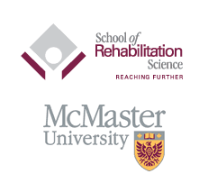 School of Rehabilitation Science McMaster University logos