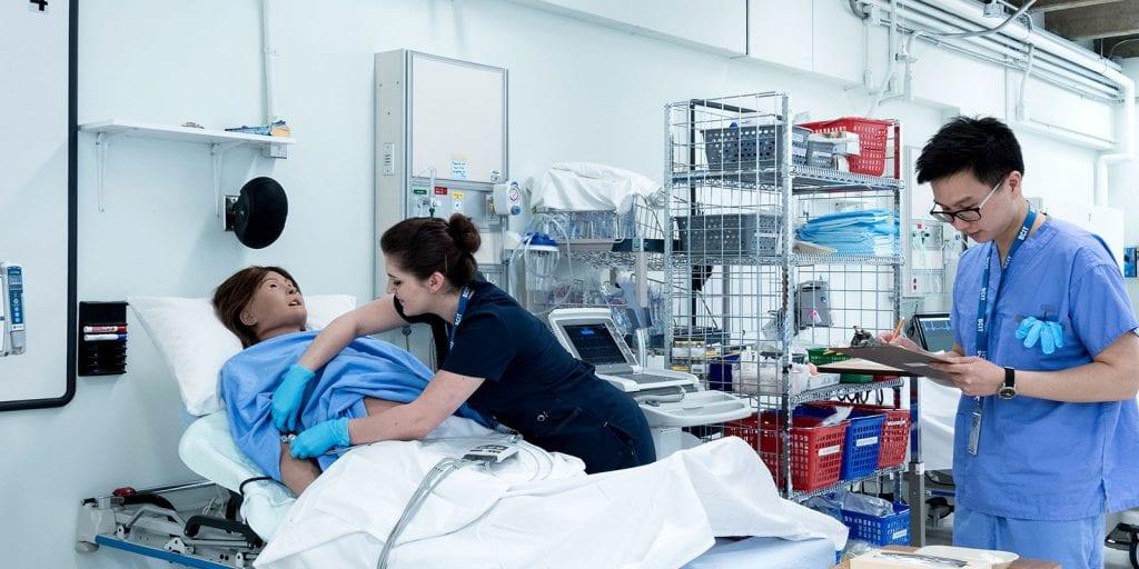 image of cardiology lab.
