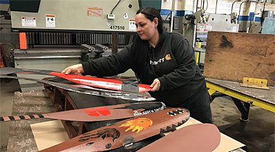 This program teaches more than a trade for students in the Indigenous cohort of the Metal Fabricator Foundation program at BCIT
