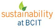 Sustainability at BCIT logo