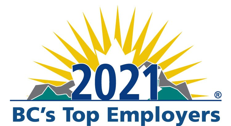 2021 BC's Top Employers logo