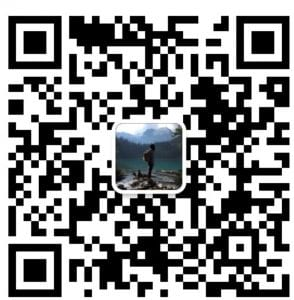 QR code for contacting BCIT international recruitment specialist in Mandarin