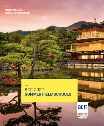 BCIT Summer Field School Brochure