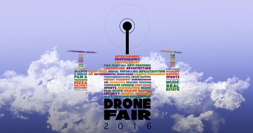 Event poster for Drone Fair 2016