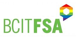 BCIT FSA Pride logo