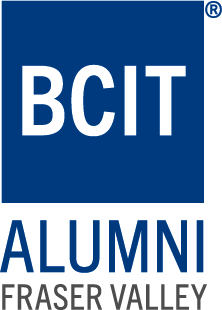 BCIT Alumni Fraser Valley text and logo