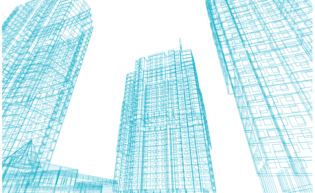 illustration of 2 highrise buidings
