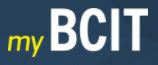 the myBCIT logo