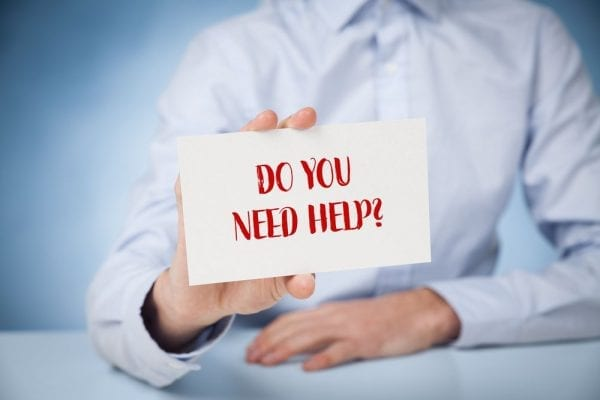 Do You Need Help? Professional Expert Or Customer Services Suppo