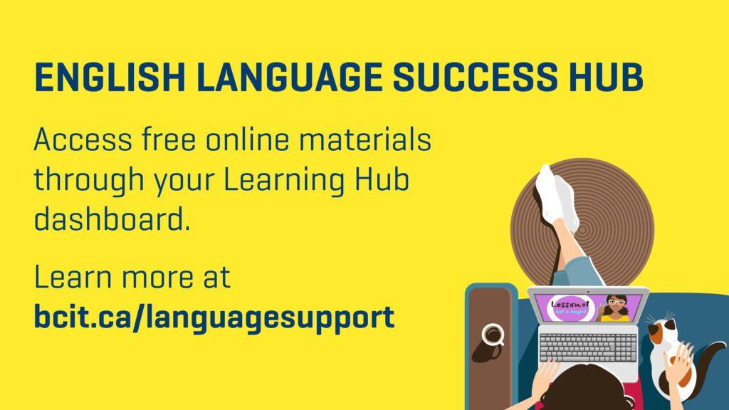 English Language Support poster