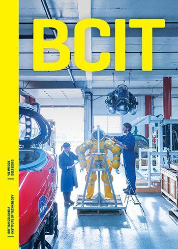 2022/2023 BCIT Viewbook cover